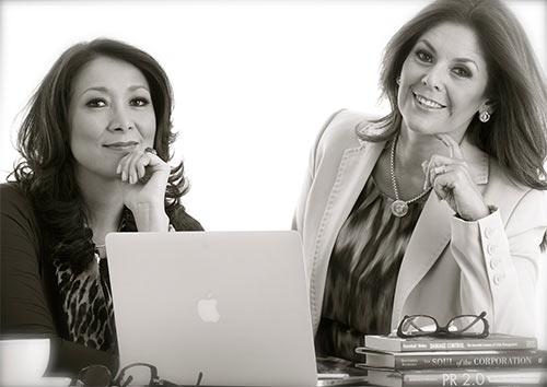 Nadina Rivas y Diana de Mejia, Consultoras Asociadas, cuentan con más de 25 años de experiencia en el campo de las comunicaciones.